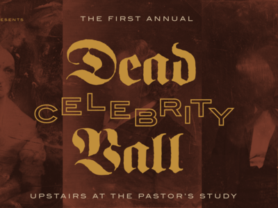 Dead Celebrity Ball Graphics