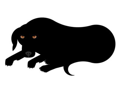 Dog Illustration dog illustration vincent boxer black lab boxador black rescue enzo mari dog the magnificent vincent