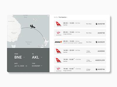 Flight Booking webdesign web figma ui ux design