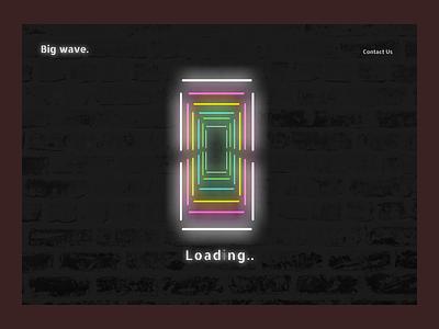 Loading UI webdesign web figma ui ux design