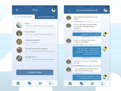 7cups mobile app Re Design (2)