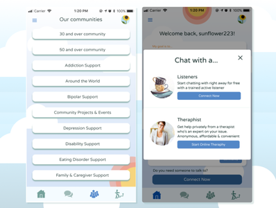 7cups mobile app Re Design (3)