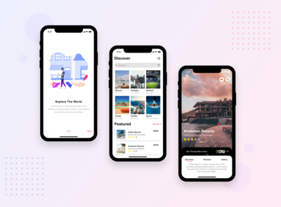 Travel Explorer Application - Concept