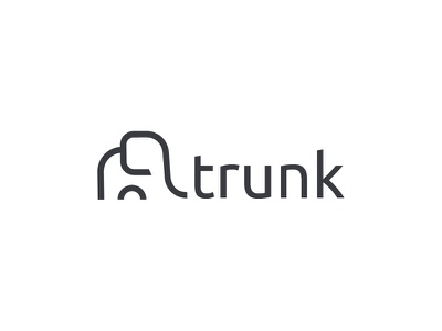 Trunk Logo services develper elephant trunk branding logo