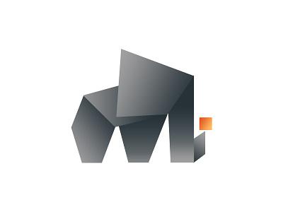 Gradient Elephant Icon