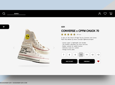 Shoe Website Concept websitedesign website uidesign uxdesign
