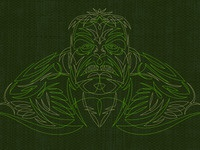 Hulk Pinstripe 1