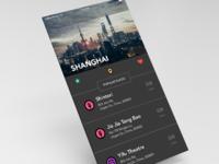 Mobile app for wanderlusts