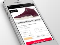 Mobile Retail UI