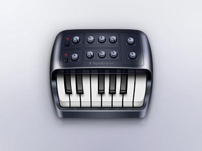 Piano Synthesizer Icon piano synthesizer icon