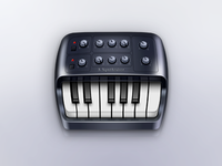 Piano Synthesizer Icon
