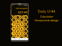 Daily UI #4 Calculator