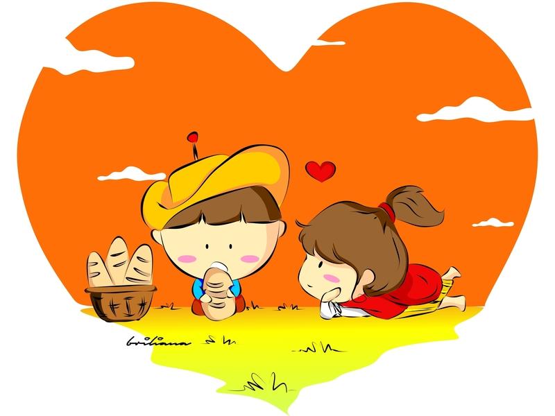 kids illustration flat design website vector illustration