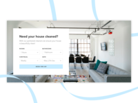 Cleaner Booking - UI Concept