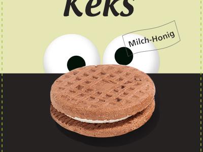 cookie monster illustration package design packaging design