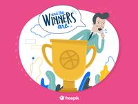 Dribbble Winners