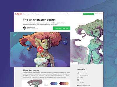 Web design of the new Freepik project