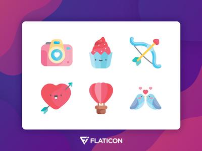 Valentine's Day Pack - Flaticon