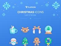 Adjunto christmas icons