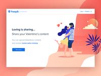 ❤️ Valentine's Day Landing page