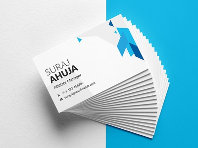 business card visiting card by ashok suthar dribbble