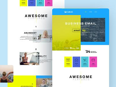 Landing Page website web gradient webdesign ui design uiux ui mobile landingpage graphic homepage