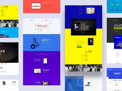 Landing Pages uiuxdesign homepage website design landingpage landing webpage uidesign uiux ux ui website