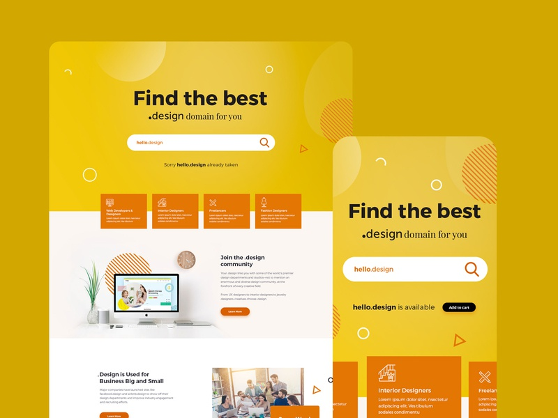 Landing Page landing page graphic mobile ui mobile uidesign ui ux webdesign website homepage homepagedesign landingpage