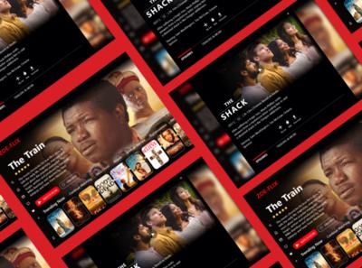 Zoe-flix is an imitation of Netflix but contains just Christian app netflix uiuxdesign uiux ui