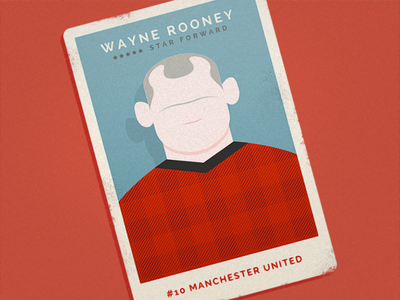 Wayne Rooney Player Card