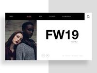 Fashion EC Landing Page