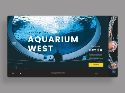 Aquarium Website
