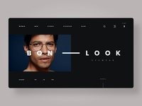 Eyewear Website (BONLOOK Concept)