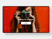 Unsplash Redesign Concept