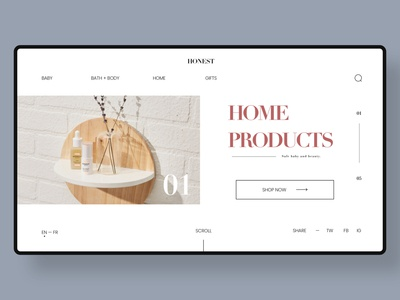 Website Redesign Concept