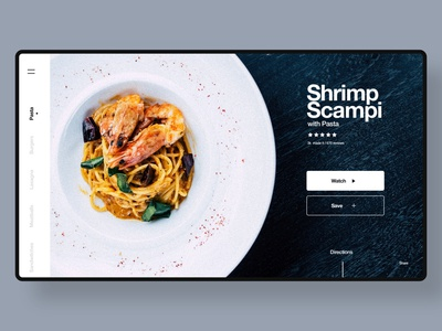 Recipe Website Concept
