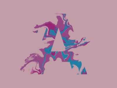 Alphabet-A letter alphabet ipad procreate logo