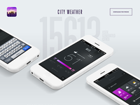 City Weather landing page