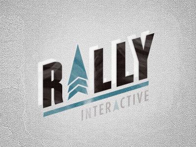 Rally Interactive Logo Take 1 logo branding creative direction art direction design direction champion rally interactive rally interactive