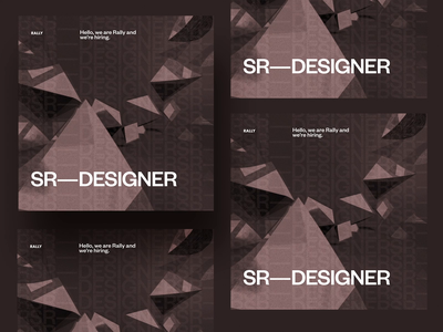 Rally is hiring Sr Designers