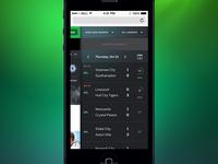 Mobile web side drawer (*)