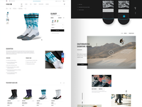 Stance — product detail page