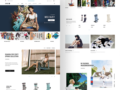 Stance — women's landing page
