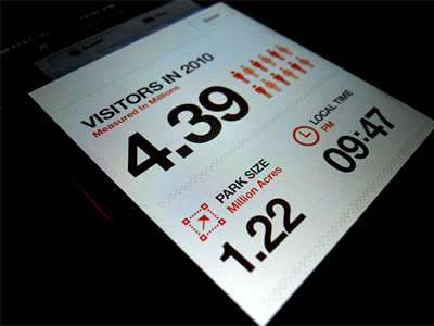 Stats ios infographic data helvetica iphone app mobile design ui ux rally interactive interface