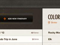 Itineraries (iPad)