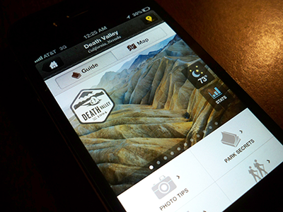 National Parks by National Geographic app ios development ui texture iphone mobile ux rally interactive design interface