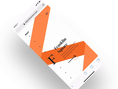 Rally up for SOTM 🙏 rally development website web design site concept creative direction art direction mobile interface ux design ui rally interactive