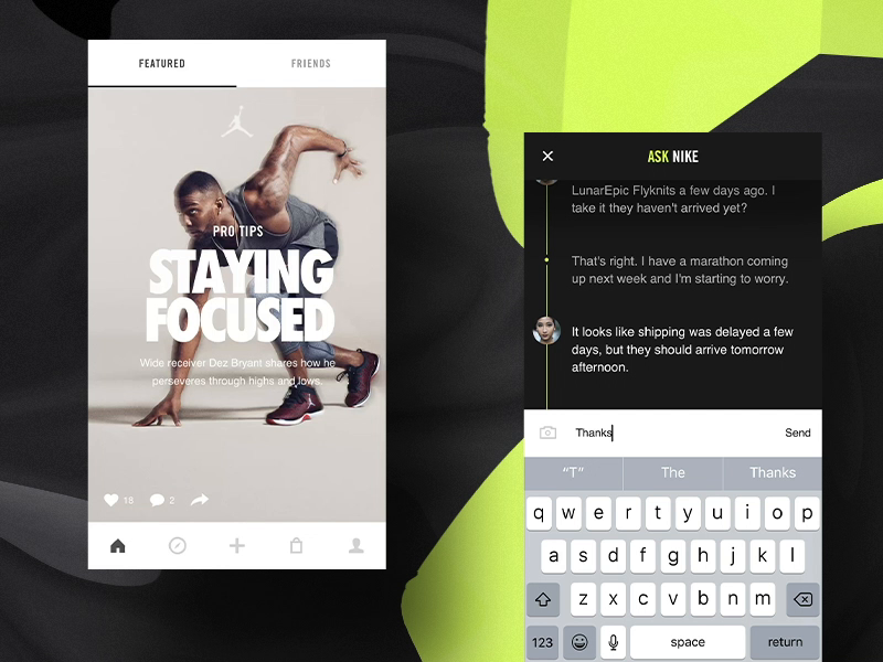 Nike chat