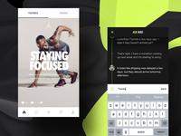 Nike+ Chat [dark concept]