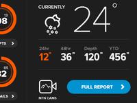 Snowbird Widget updates